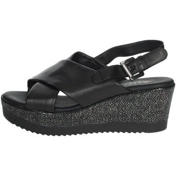 Chaussures Femme Sandales et Nu-pieds Repo 51529-E0 Noir