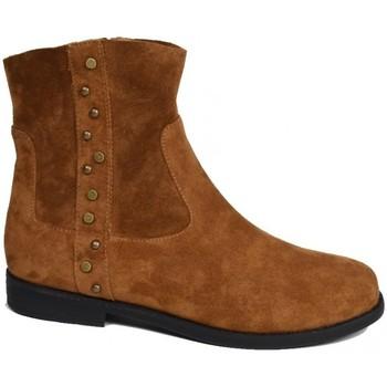 Chaussures Femme Bottines Karston Bottine ackila Marron