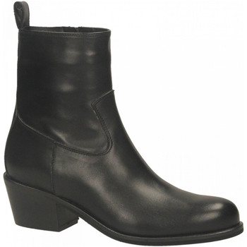 Chaussures Femme Bottines Mivida VITELLO nero