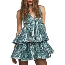 Vêtements Femme Robes courtes Aniye By Robe Maku bleue  ANI131201 00213 Bleu