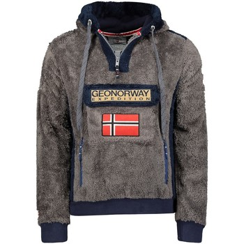 Vêtements Homme Polaires Geographical Norway Polaire Homme Gymclass Sherco 100EO Gris