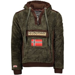 Vêtements Homme Polaires Geographical Norway Polaire Homme Gymclass Sherco 100EO Kaki