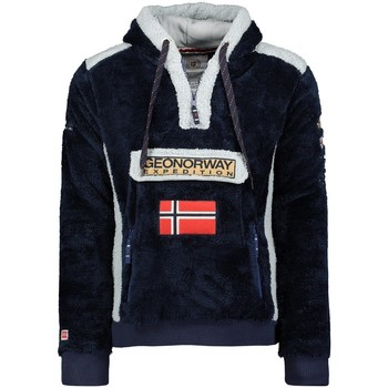 Vêtements Homme Polaires Geographical Norway Polaire Homme Gymclass Sherco 100EO Bleu