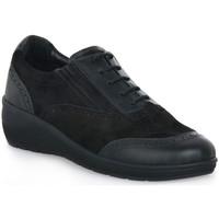 Chaussures Femme Baskets basses Grunland NERO DAPE Nero