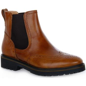 Chaussures Femme Bottines Nero Giardini NERO GIARDINI  400 MANOLETTE CUOIO Marrone