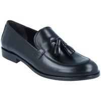 Chaussures Femme Mocassins Luis Gonzalo Zapatos Mocasines para Mujer de  5133M Noir