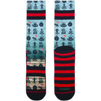 Accessoires Homme Chaussettes Xpooos Chaussette homme Happy New year Multicolore