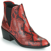 Chaussures Femme Boots Fericelli NIAOW Noir / rouge