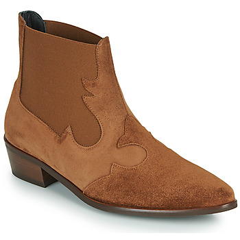 Chaussures Femme Boots Fericelli NANTIAG Camel