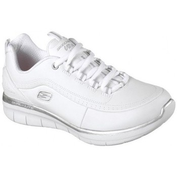 Chaussures Femme Sport Indoor Skechers SYNERGY 2.0 12363 Blanc