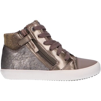 Chaussures Fille Baskets montantes Geox J024ND 054PV J GISLI Gris