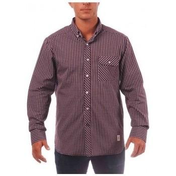 Vêtements Homme Chemises manches longues Kamate Chemise - Opra - Rouge