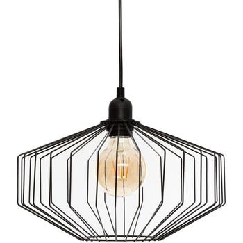 Maison & Déco Lustres, suspensions et plafonniers Atmosphera Suspension métal Azur noir D30.5 Noir