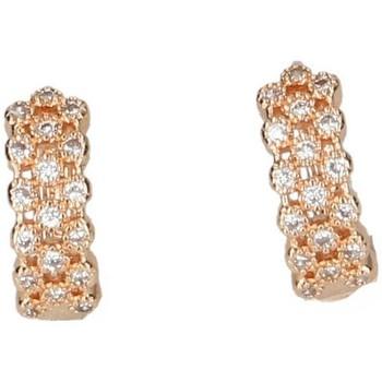 Montres & Bijoux Femme Boucles d'oreilles Luna Collection 50051 Doré