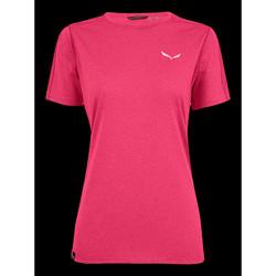 Vêtements Femme T-shirts manches courtes Salewa Pedroc 3 DRY W S/S TEE 27726-6385 różowy