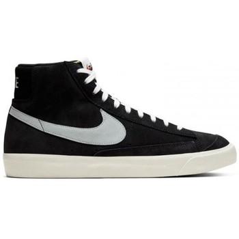 Chaussures Basketball Nike BLAZER MID '77 SUEDE / NOIR Noir