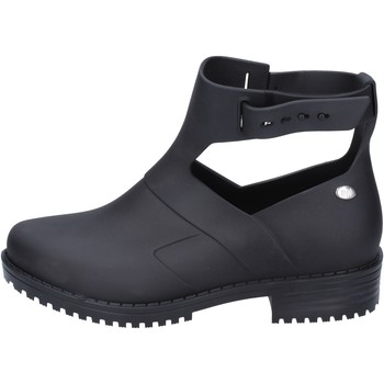 Chaussures Femme Bottines Mel bottines caoutchouc noir