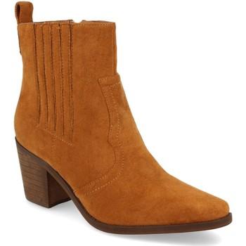 Chaussures Femme Bottines Prisska TY1065 Camel