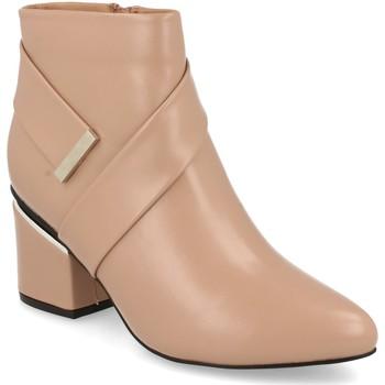 Chaussures Femme Bottines Prisska Y5675 Nude