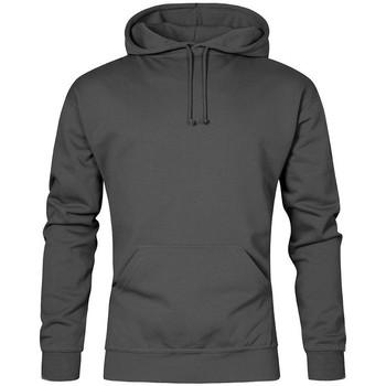 Vêtements Homme Sweats Promodoro Sweat capuche basic 80-20 grandes tailles Hommes gris acier