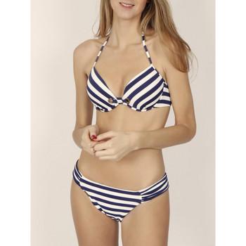 Vêtements Femme Maillots de bain 2 pièces Admas Ensemble 2 pièces bikini push-up Sailor Bleu Marine