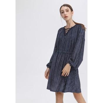 Vêtements Femme Robes courtes Smart & Joy Améthyste Bleu marine