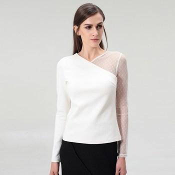 Vêtements Femme Tops / Blouses Smart & Joy Calcite Blanc