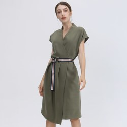 Vêtements Femme Robes courtes Smart & Joy Tourmaline Vert olive
