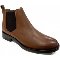 Chaussures Femme Bottines Mkd Boots Plates LUSO Camel Marron