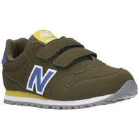 Chaussures Garçon Baskets basses New Balance IV500GR/YV500GR Niño Kaki vert