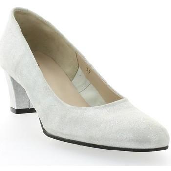 Chaussures Femme Escarpins Vidi Studio Escarpins cuir laminé Argent