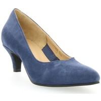 Chaussures Femme Escarpins Vidi Studio Escarpins cuir velours Bleu