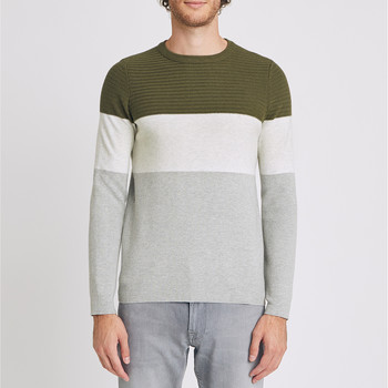 Vêtements Homme Pulls Jules Pull Color Bloc Ecru Chiné