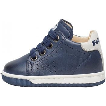 Chaussures Garçon Baskets mode Falcotto - Polacchino blu ADAM-0C02 BLU