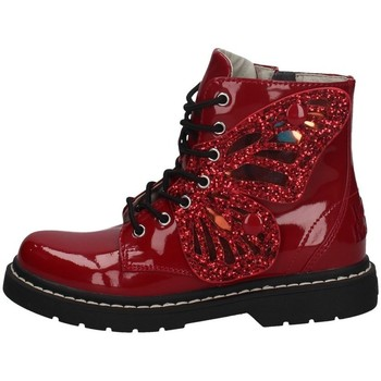 Chaussures Fille Bottines Lelli Kelly LK 6540 ROUGE
