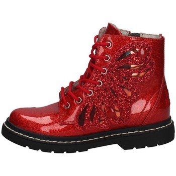 Chaussures Fille Bottines Lelli Kelly LK 5544 ROUGE