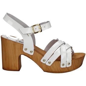 Chaussures Femme Sandales et Nu-pieds Melluso 09601X BLANC