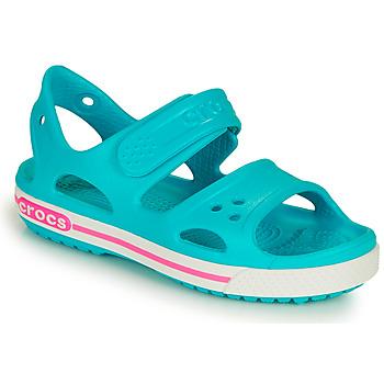 Chaussures Fille Sandales et Nu-pieds Crocs CROCBAND II SANDAL PS Bleu / Rose