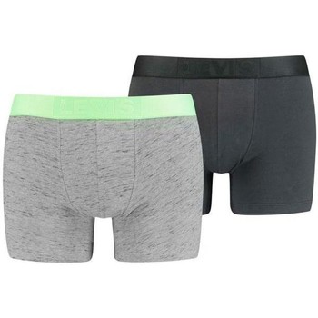 Sous-vêtements Homme Boxers Levi's INJECTED SLUB Gris