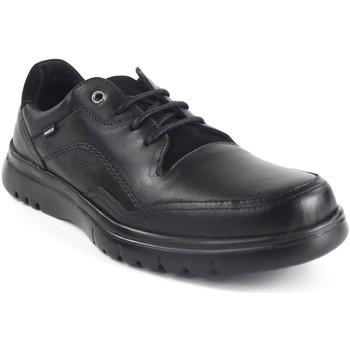 Chaussures Homme Baskets basses Baerchi Chaussure homme  5056 noir Noir