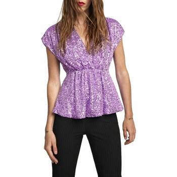 Vêtements Femme Tops / Blouses Aniye By Top Anne Violet  ANI131245 00129 Violet