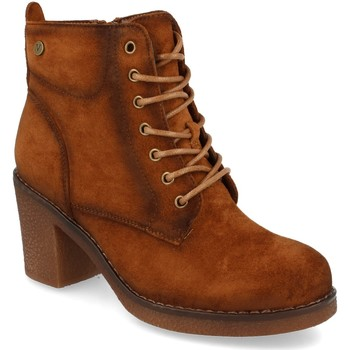 Chaussures Femme Bottines Virucci VR0-159 Camel