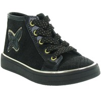 Chaussures Fille Baskets montantes Bellamy LENA Noir