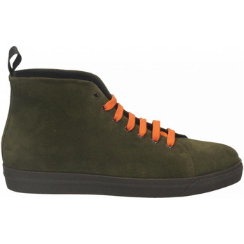 Chaussures Homme Boots Frau SUEDE muschio