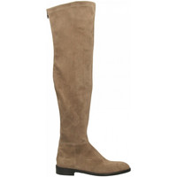 Chaussures Femme Cuissardes Guglielmo Rotta LOUISIANA taupe