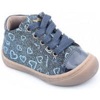Chaussures Fille Boots Stones and Bones 4031 wand bleu