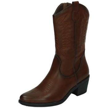 Chaussures Femme Bottes ville B&w  Marron