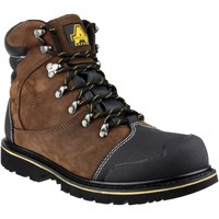 Chaussures Homme Boots Amblers Safety A4072D2 FS227 Marron