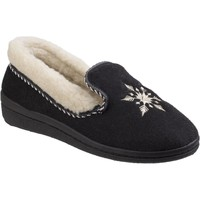 Chaussures Femme Chaussons Mirak Snowflake Noir