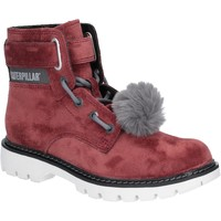 Chaussures Femme Bottines Cat Lifestyle P310542 Conversion Velvet Burgandy